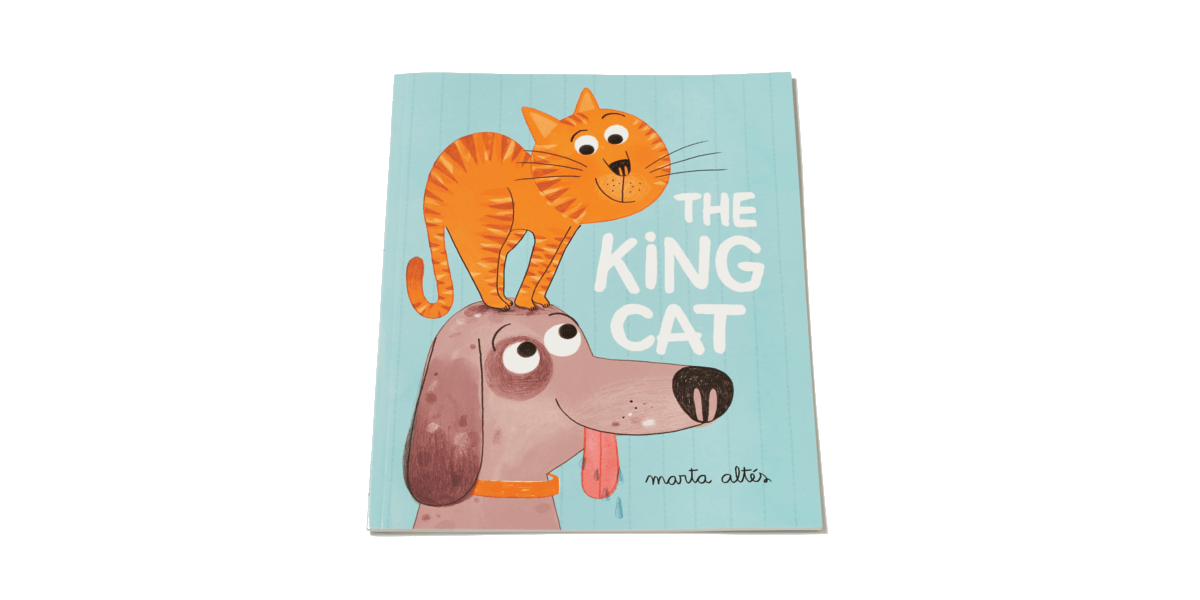 The King Cat illustrated children's book by Marta Altés