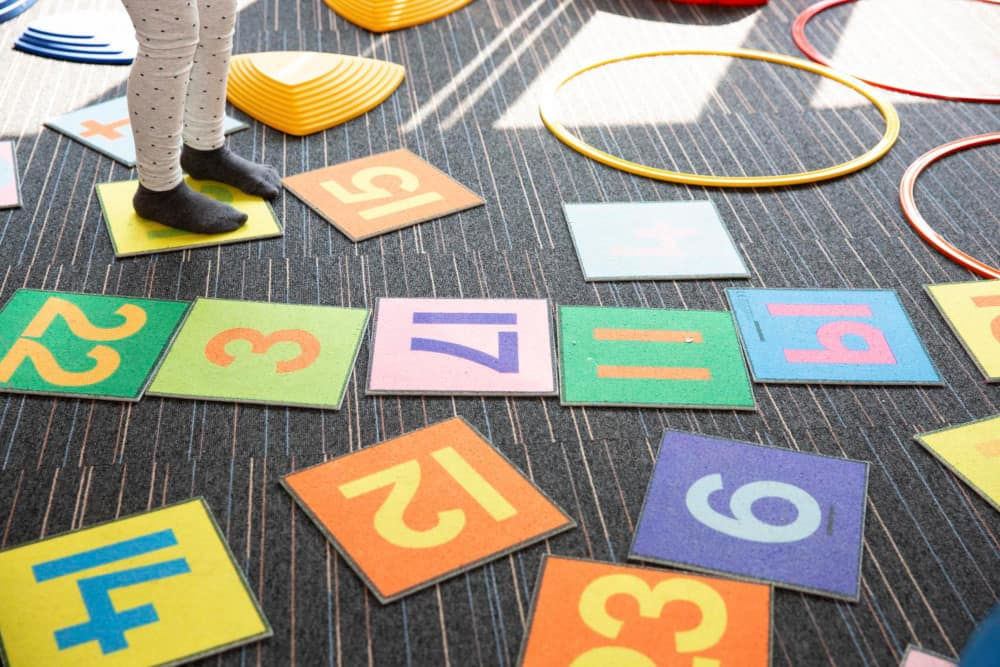 Photo of play tiles
