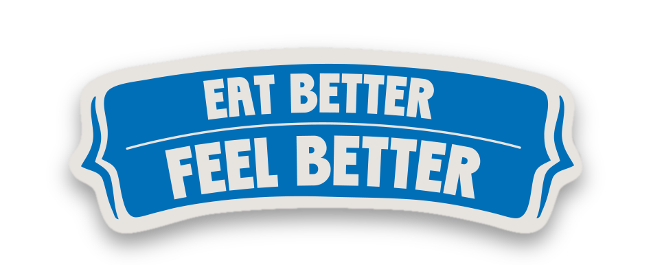 Eat better feel better logo