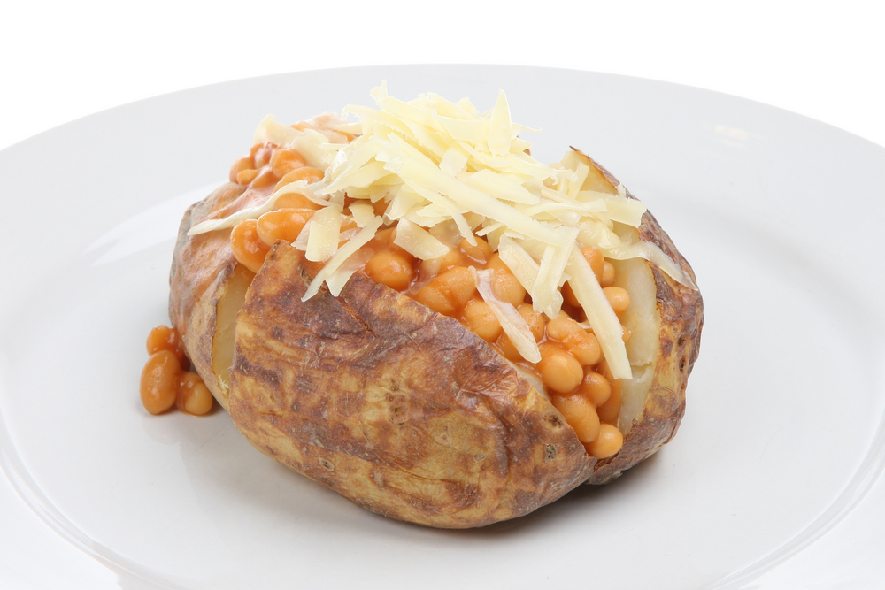 Baked Potato With Beans And Cheese Parent Club