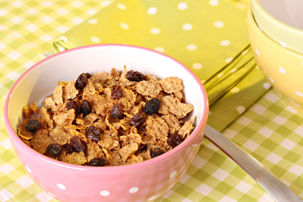 bran flakes with fruit parent club