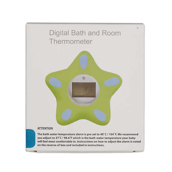Bath and room thermometer